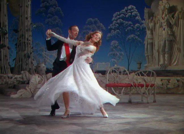 Lucille Bremer & Fred Astaire in ZIEGFELD FOLLIES (1945) dir. Vincente Minnelli
