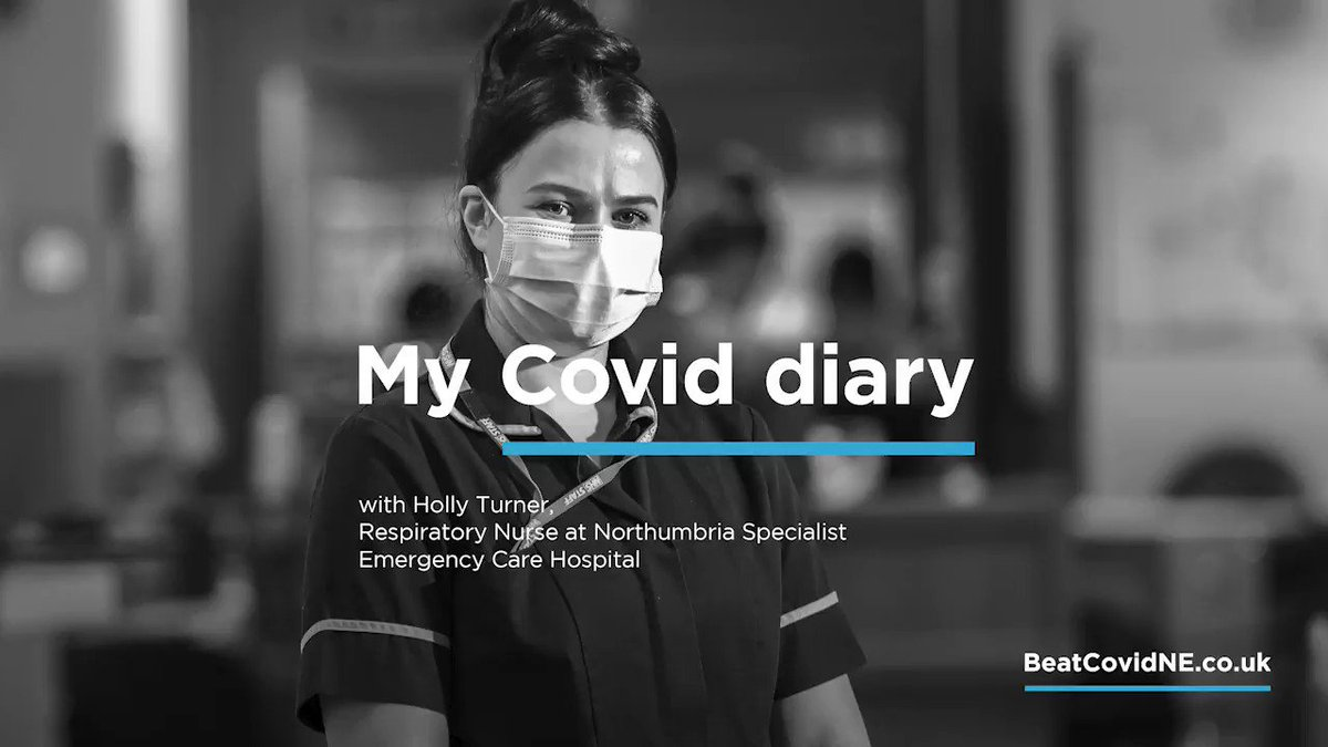 Holly is amazing. She's a nurse at Northumbria Emergency Care Hospital, Cramlington @NorthumbriaNHS She talks about what it's like dealing with this deadly virus and how it's affected her. #BeatCovidNE Find out more at 👉 orlo.uk/bRrva