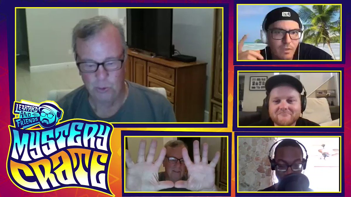 New #MysteryCrate!!! Mike tries his hand at the new social media app Clubhouse & the Shipping Container are joined by former TV producer #Bruce to talk about his hands and napping habits. 🏴‍☠️ podcasts.apple.com/us/podcast/le-… 🏴‍☠️ open.spotify.com/episode/1ox94Y…