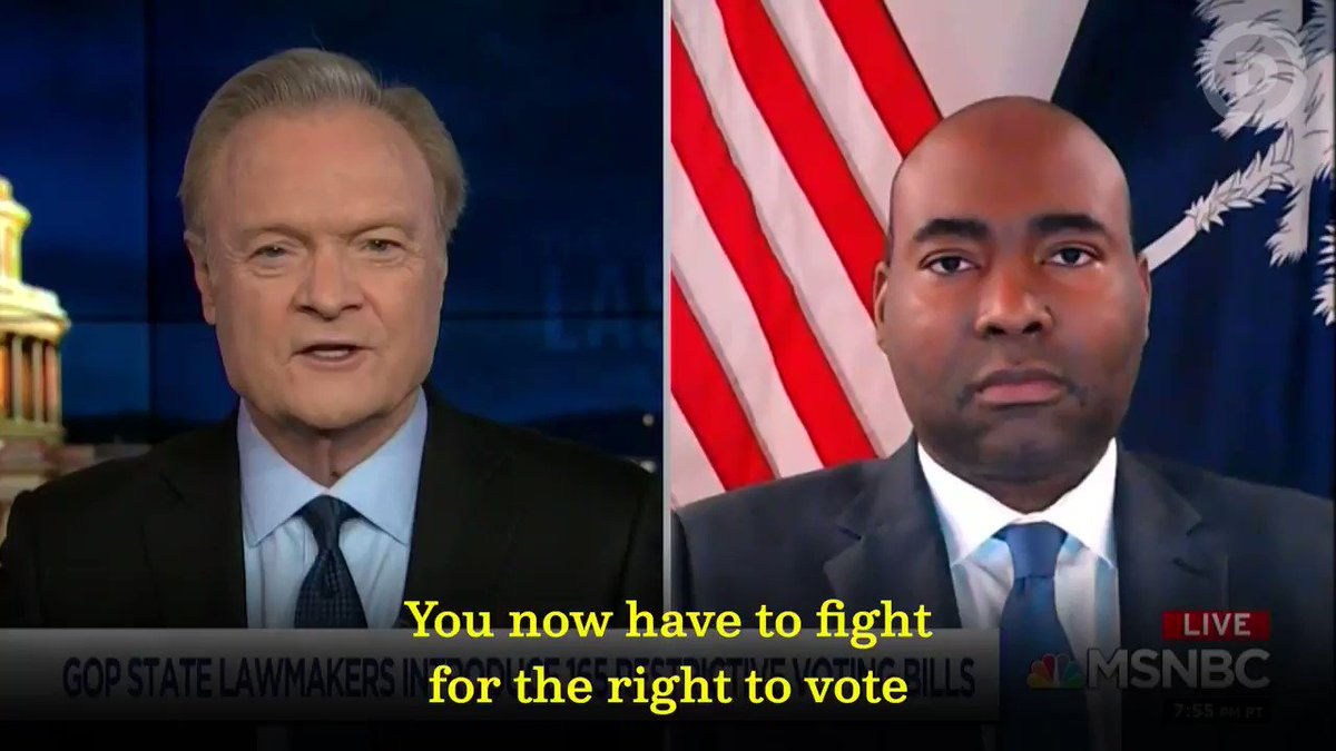As Chair @harrisonjaime said, it's critical that we protect and expand the right to vote. That's why we're working to elect leaders who will fight tooth and nail to protect it