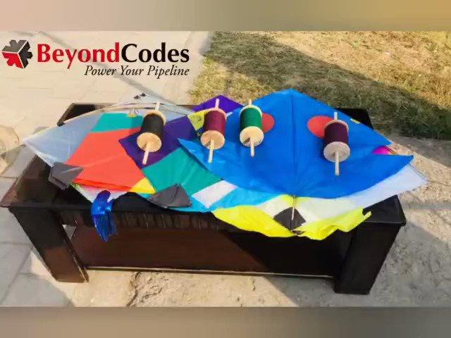 Basant Panchami Celebrations at BeyondCodes!!  #funtimes #BasantPanchami #kitesurfing