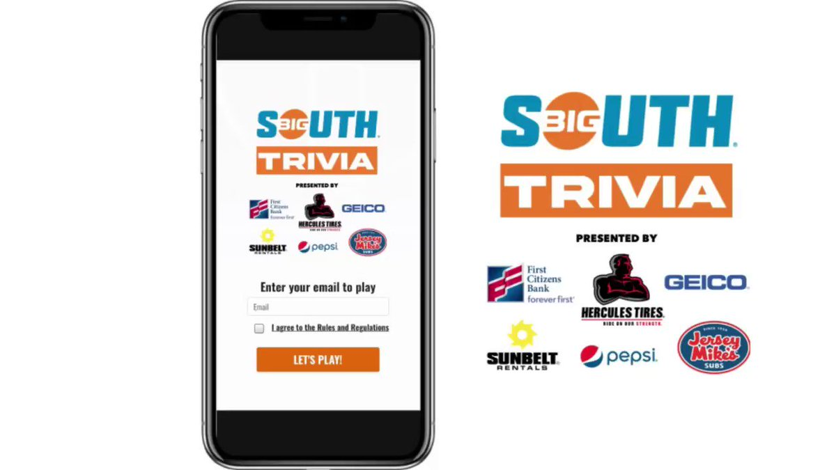 As our 2021 @HerculesTires Basketball Campus Tour, presented by @GEICO, rolls into @HUAthletics1868, be sure to play Big South Trivia for a chance to win exclusive prizes! Well reveal the answers later this evening! bigsouthtrivia.sqwadhq.com