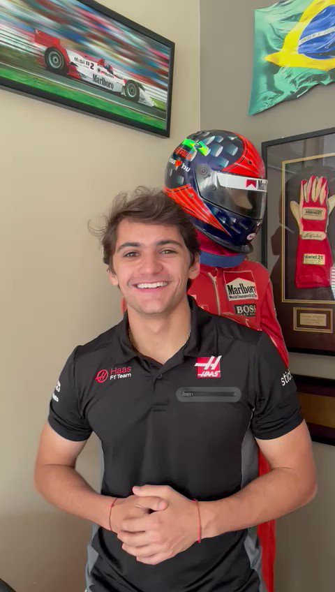 🇬🇧 Back on the team for 2021! A message from @PiFitti as he continues as our Test and Reserve driver this year.  #HaasF1