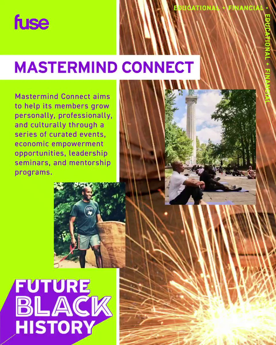 Mastermind Connect aims to help its members grow personally, professionally and culturally, through a series of curated events, economic empowerment opportunities, leadership seminars, and mentorship programs.