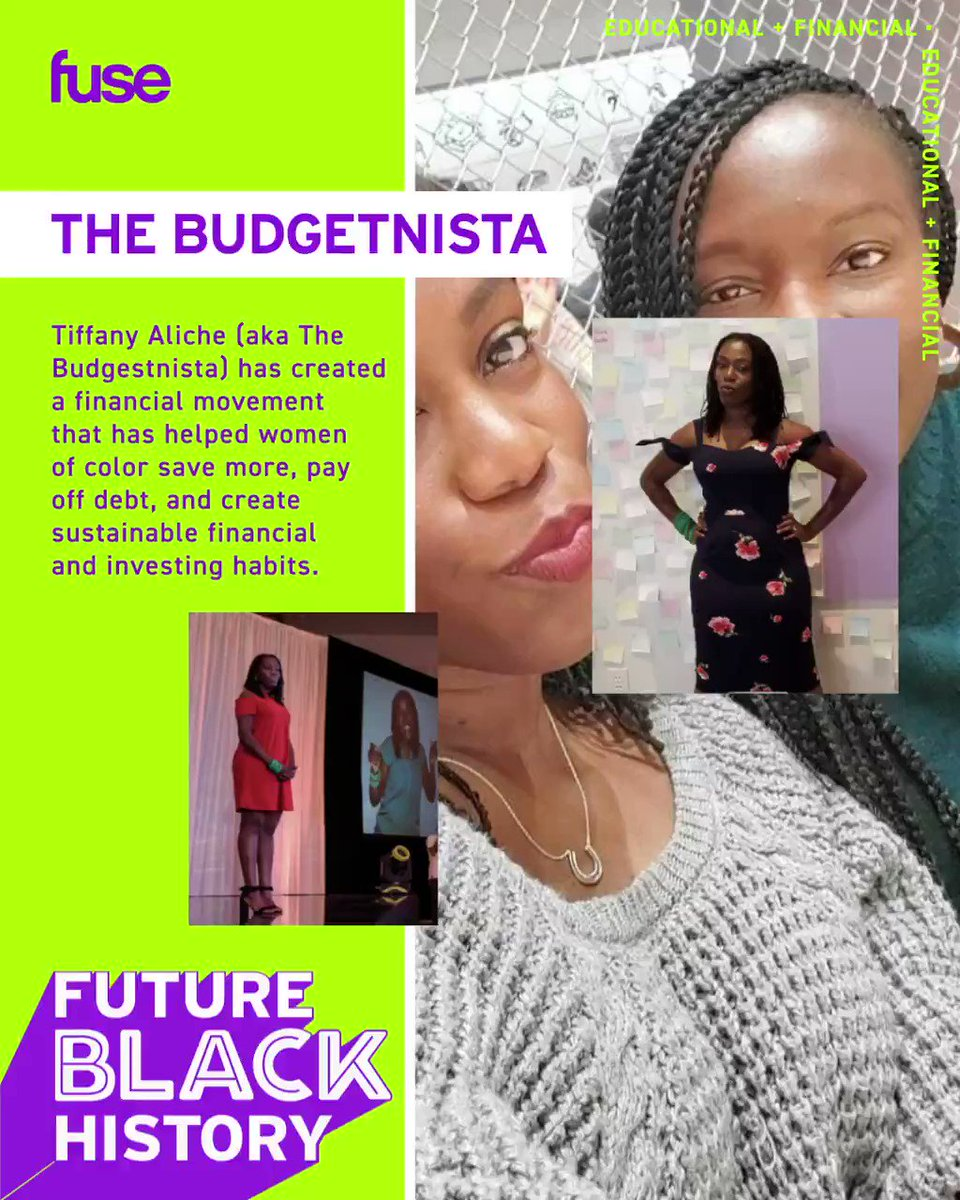 Tiffany Aliche (aka @TheBudgetnista) has created a financial movement that has helped women of color save more, pay off debt, and create sustainable financial and investing habits.