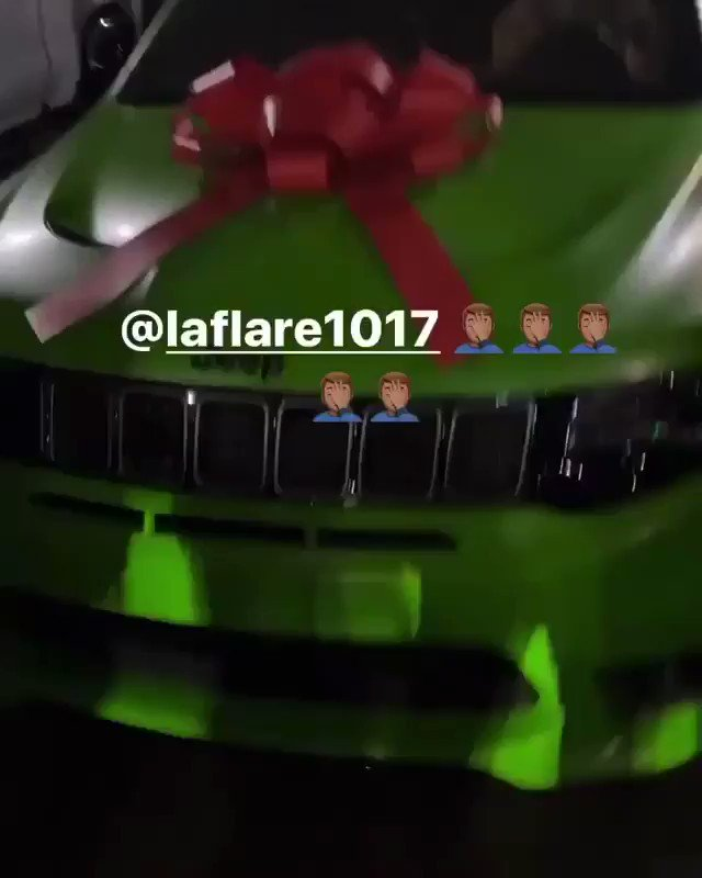 Gucci Mane gifted Pooh Shiesty a new whip at Gucci's birthday celebration