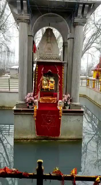 Mata Kheer Bhawani , Kashmir  @LostTemple7 @VertigoWarrior @KashmiriPandit7 @desi_thug1 @IndiaTales7 @DivineElement