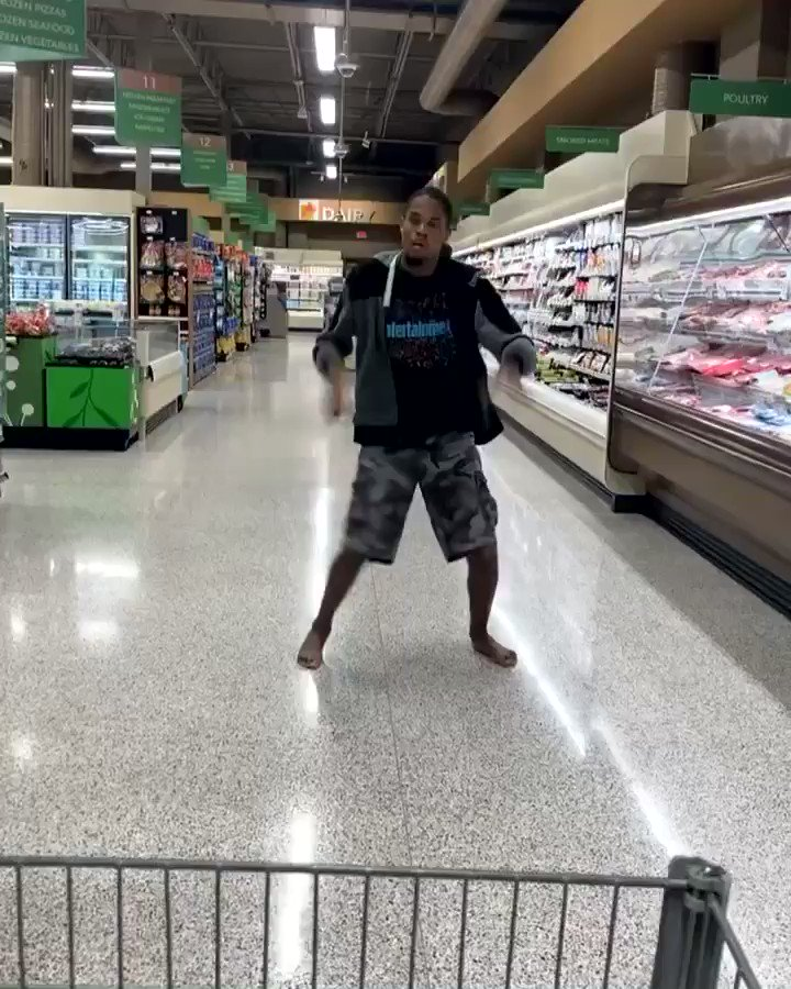 @iamcardib I did my up video in Publix 😂😂😂😂😂
