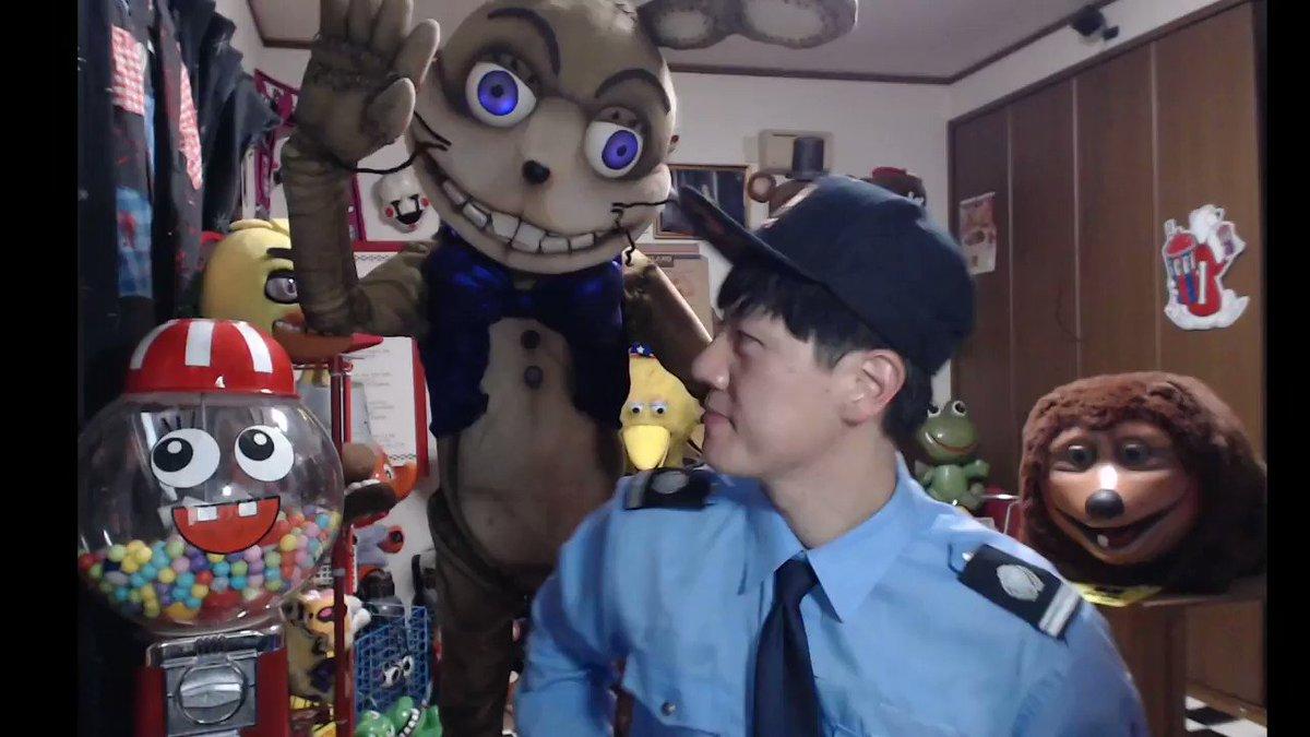 Five Nights at Freddy'sが好き過ぎて部屋のど真ん中に2m越えの着ぐるみ設置しましたが控えめに言って最高です