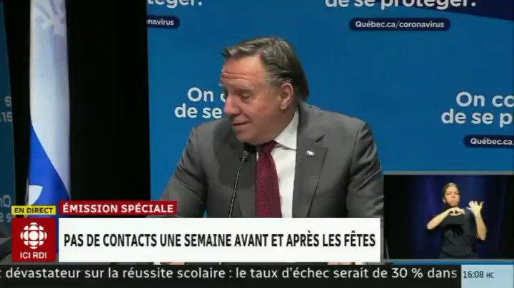 En 10 secondes, François Legault nous répète 3 fois le même mensonge 🤥🤥🤥  Mensonge qui vieillit déjà très mal 😬😬😬 https://t.co/PdS9ROrTfn