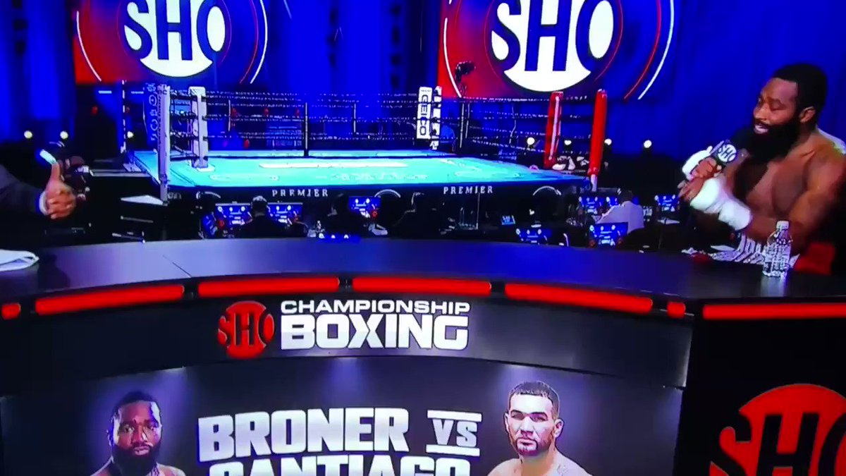 """""""I only had $13 coming into this fight... for the rest of the weekend we're gonna pop bottles, cash checks and have sex""""  - Adrien Broner after winning by UD"""
