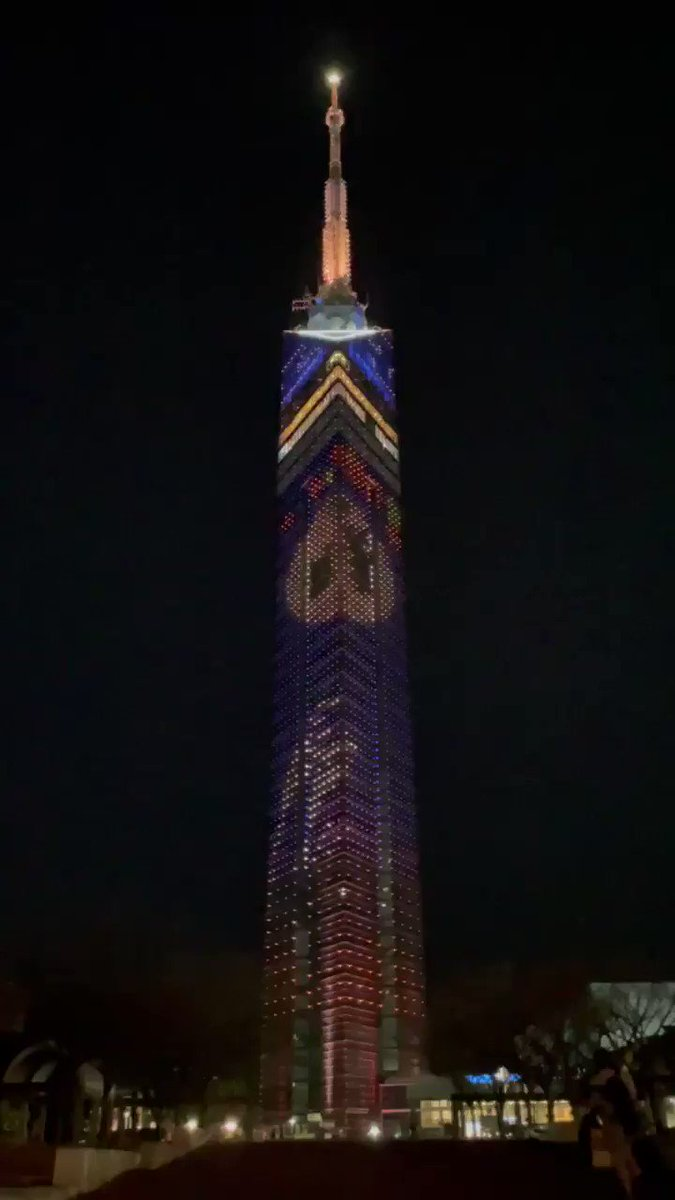 改めてWinちゃんお誕生日おめでとう🎂 そして2gether1周年おめでとう🎊 福岡タワーがWinちゃんのお誕生日カラーの赤に変わりました❤️ 企画してくださった方ありがとうございます🥰✨  #Double2YrsOfWIN #winmetawin