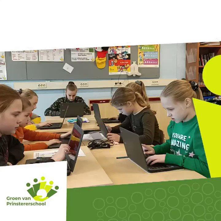 Image for the Tweet beginning: Dit is de Groenschool:  Klassikaal