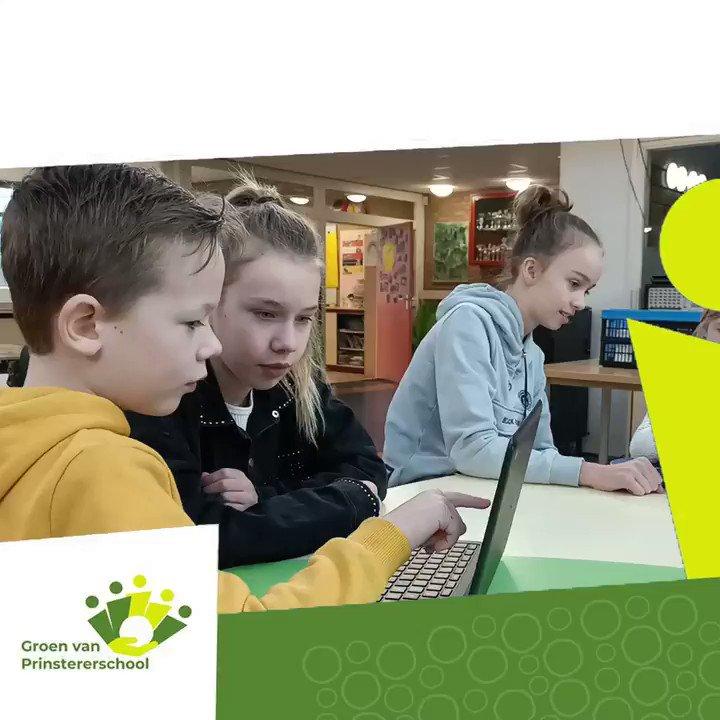 Image for the Tweet beginning: Dit is de Groenschool:  Kinderen