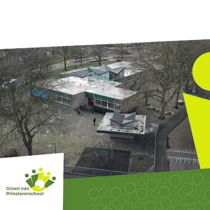 Image for the Tweet beginning: Dit is de Groenschool:  Komend
