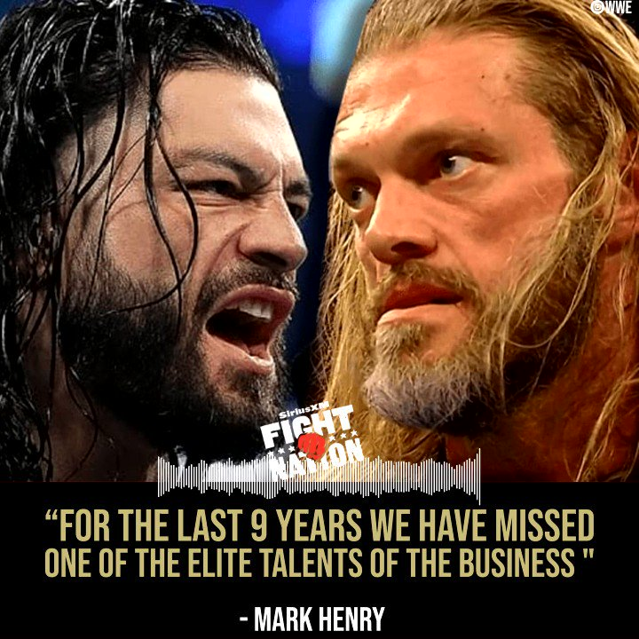 Both @TheMarkHenry & @RyanMcKinnell cant wait to see what happens now that @EdgeRatedR is back!
