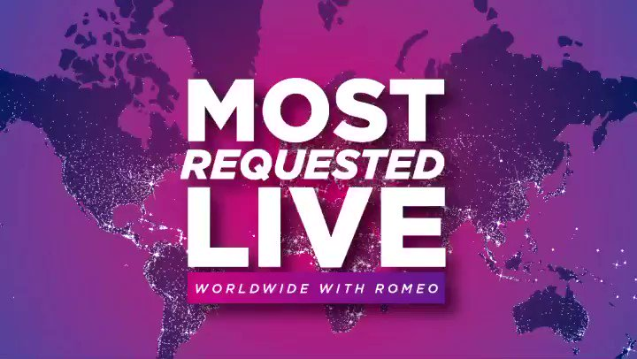 Thanks for listening to #MostRequestedLive with @onairromeo! 🤩🎧 Here are the Top 5 Most Requested songs this weekend. 🎶 Congrats #Orbits ⭐️  #5 @justinbieber #Anyone #4 @Olivia_Rodrigo #DriversLicense #3 @iamcardib #Up #2 @Louis_Tomlinson #Defenceless #1 @loonatheworld #Star