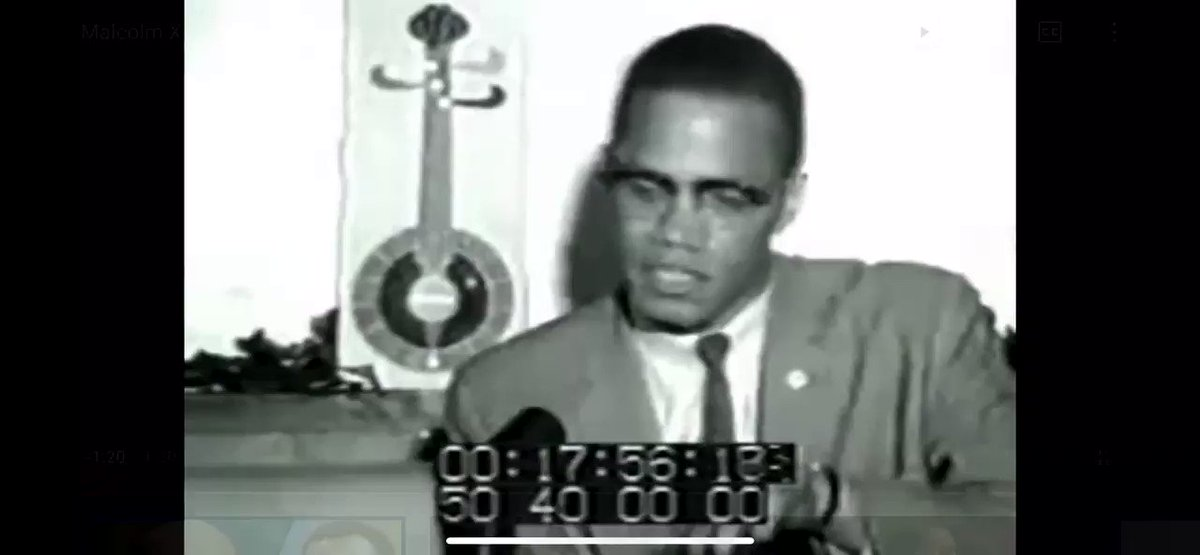 RT @DrinkSolaPop: Malcolm X on the futility of white liberals. https://t.co/ivHiL3GpET