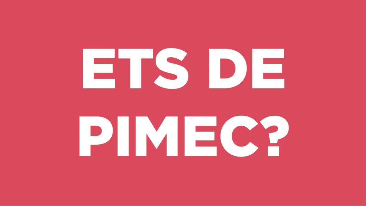 Encara no ets de @EinesPimec ??? Nosaltres ho tenim claríssim!!! #republicat #independencia #llibertat #eleccions #freetothom #pimec #einespimec