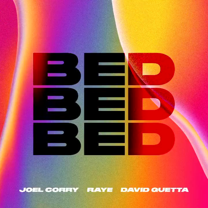 BED is out this Friday! 🛌🥳  Buzzing for you guys to hear my new single with @RAYE & @DavidGuetta!  Pre-order now on iTunes👇❤️