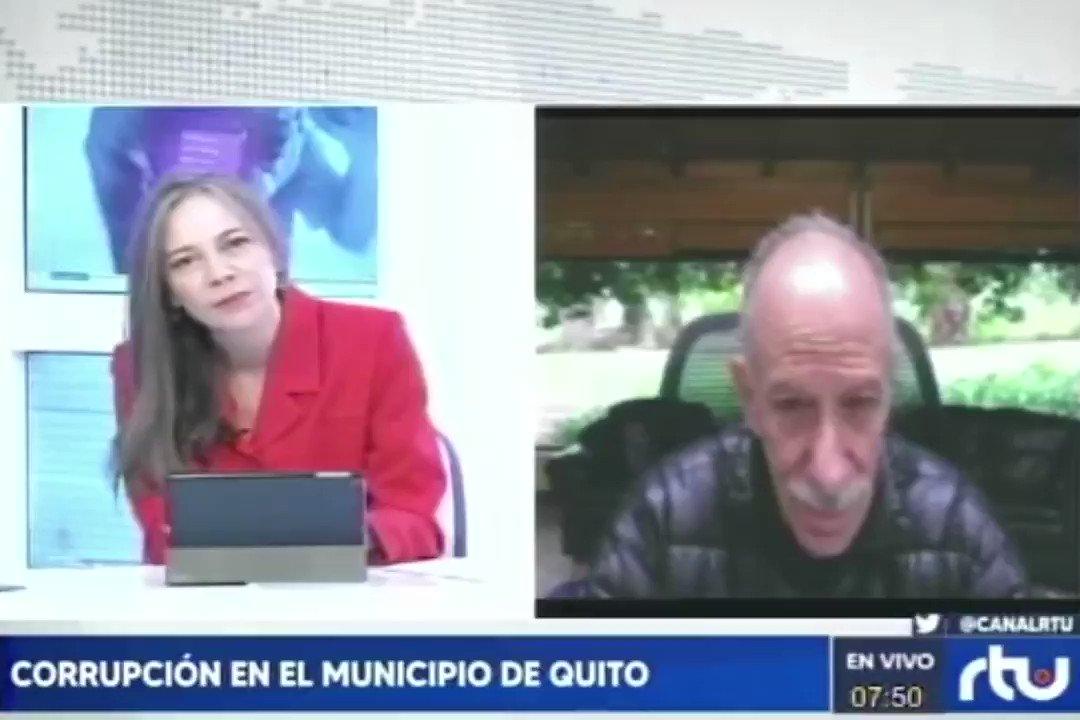 """🔴[#ATENCION] Ante el calificativo de """"veterano"""" de Jorge Yunda, a Roque Sevilla, el ex alcalde de Quito, respondió en RTU Noticias al Amanecer    #Yunda #Quito #JorgeYunda https://t.co/EkFsHd2lmF"""