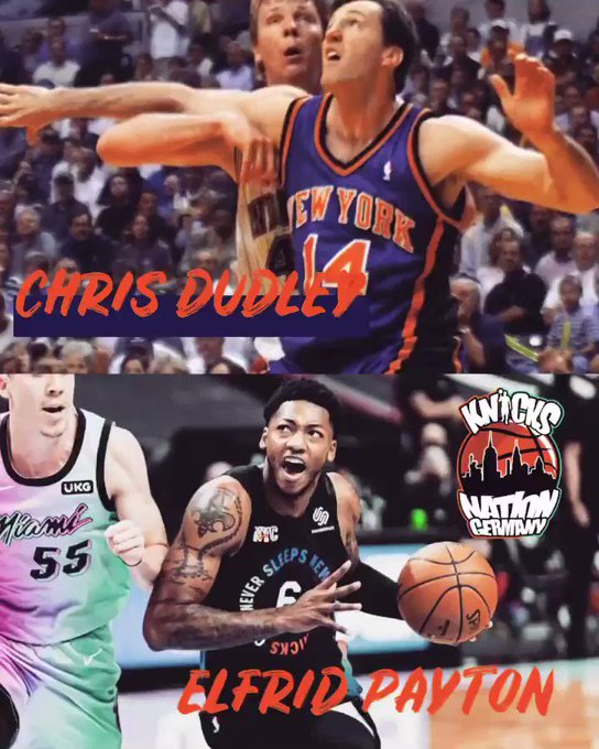 Happy Birthday Chris Dudley and     ONCE A KNICK ALWAYS A KNICK