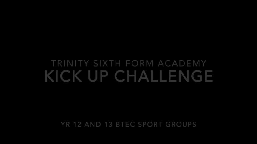 Here at Trinity Sixth 6th Form we like to work hard and play hard -  check out our half-term kick up challenge (just for a bit of fun) ⚽️👏 #BTECSport Why not have a go for a giggle!🙂