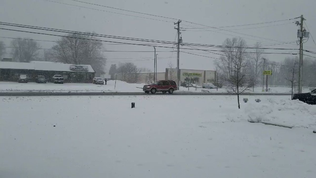 Image for the Tweet beginning: Light snow in northern #Harford