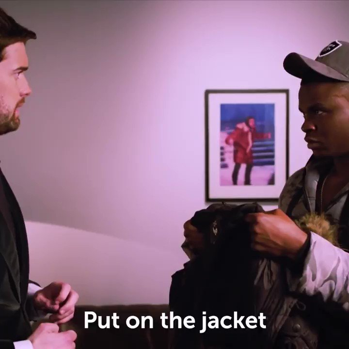 🥵 @jackwhitehall has of course had a fair few iconic moments in his time, but this 2018 'Man's Not Hot' moment with @MichaelDapaah feat. the incredible puffer jacket, is up there for us and rightfully so 😂