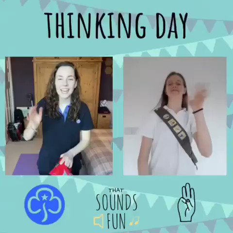 Happy World Thinking Day, especially to all those who are a member of the wonderful @Girlguiding community!! 💙  #thatsoundsfun #PassThePromise #GirlGuiding #brownies #rainbows #rangers #guidingcommunity #family #worldthinkingday #singalong #guitar #behappy #singloud #community