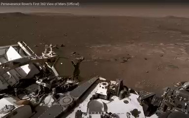 This was the most difficult Mars landing ever attempted, and @NASAPersevere handled it like a pro. Now you can explore a full 360-degree panorama of the landing site. Best viewed in the @YouTube app  #CountdownToMars