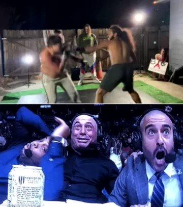 Our reactions to Wayne vs The Joker 🃏 #mma #MMATwitter #ufc #Joerogan #dc #danawhite #oscardelahoya #boxing #streetfight #DAZN #connormcgregor #joker #Bitcoin #crypto