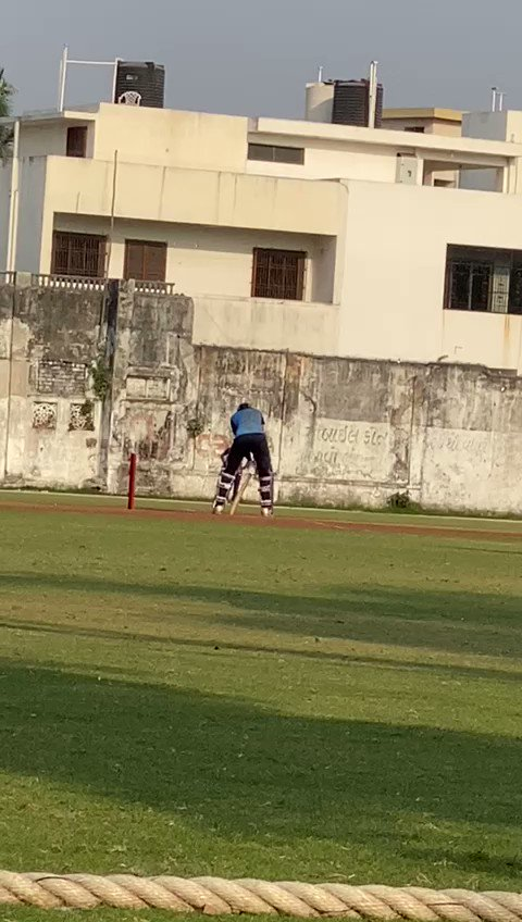 """""""MY SON, YOUR TIME HAS JUST STARTED,"""" these were the last words of my Dad when we discussed cricket after I scored 76 in a SMAT game last month. Then, I was touched by his appreciation but now I'm astonished by his vision for me."""