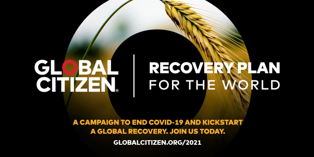 COVID-19 is not only a global health crisis, it's also a human rights crisis. So I'm teaming up with @GlblCtzn for a #WorldRecoveryPlan that calls for systemic change to deliver more equitable and just health outcomes for everyone, everywhere: