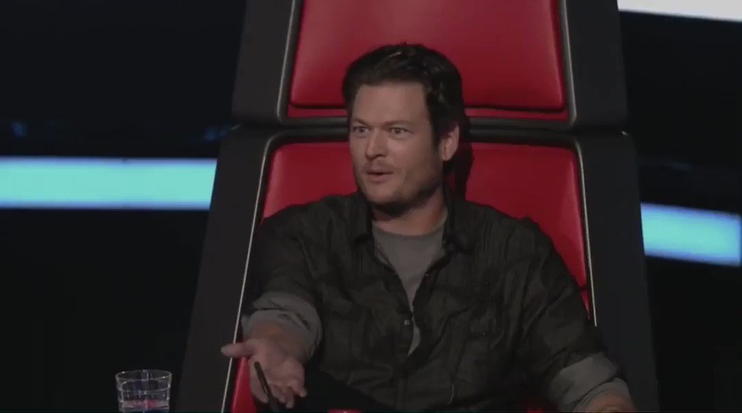 10 years, when he just joined The Voice, Blake Shelton was asked what he would do to have the contestants pick him as their coach.   Well, since he is the coach with the most wins, I think his technique is effective 😉