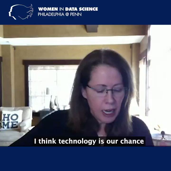 Kate Johnson, WG'94, President of @Microsoft US & keynote speaker for 2021 Women in #DataScience @ Penn Conference, emphasizes the importance of #technology as a change agent for #inclusion.   Watch Kate's entire talk:   #AnalyticsatWharton #WiDS2021