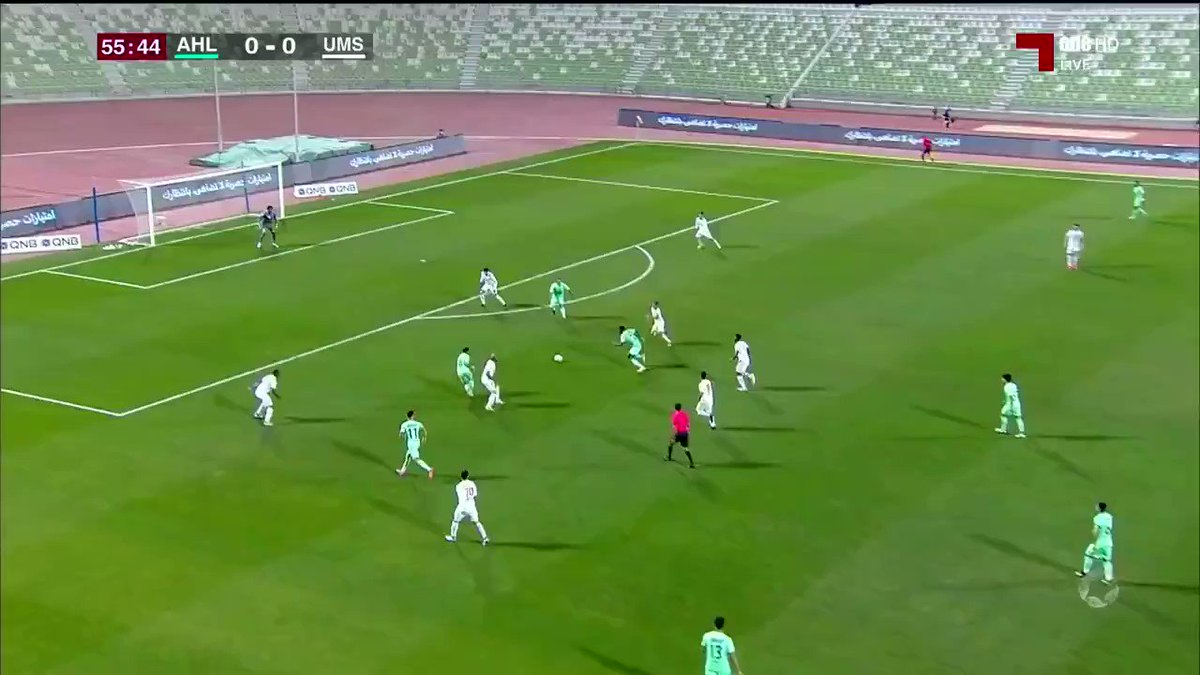 فيديو هدف الأهلي على أم صلال عبر حازم شحاتة في الدقيقة 56.