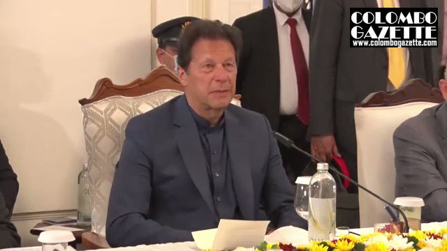 In talks with Prime Minister @PresRajapaksa visiting Pakistan Prime Minister @ImranKhanPTI recalls his visit to Sri Lanka as a cricketer. He also talks of moves to promote Buddhist pilgrimage in Pakistan #Srilanka #lka #Pakistan @PakinSriLanka @RajapaksaNamal