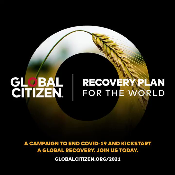 Progress toward achieving the Global Goals hasn't just stalled — it's reversed. That's why I'm excited to join @GlblCtzn in their Recovery Plan for the World. Starting now, it's on all of us to step up for a global recovery:  #WorldRecoveryPlan