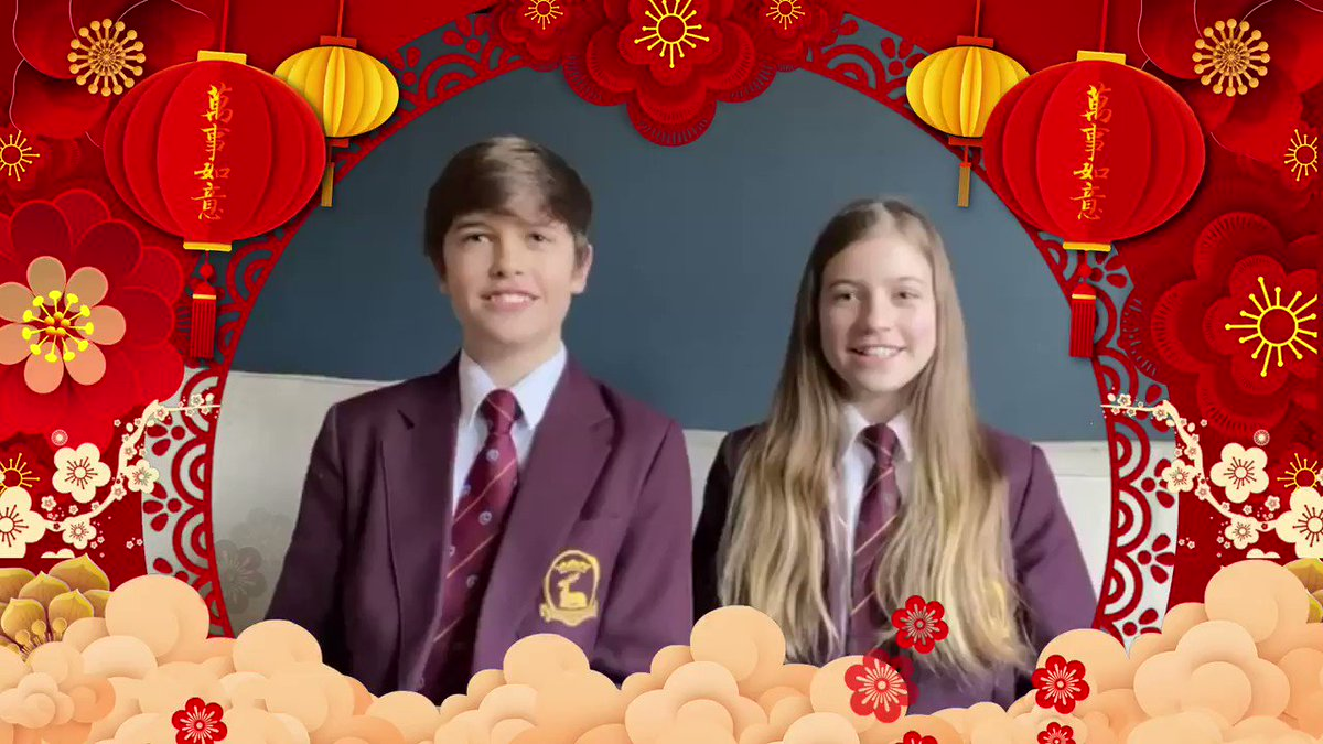 Today the #LanternFestival is celebrated, marking the end of the #ChineseNewYear festivities🏮. See our dedicated #MandarinExcellence students from @TytheringtonSch and  @AllHallowsCC sending well wishes in Mandarin to our friends celebrating🐂 @UCL_IOE_CI @educationgovuk