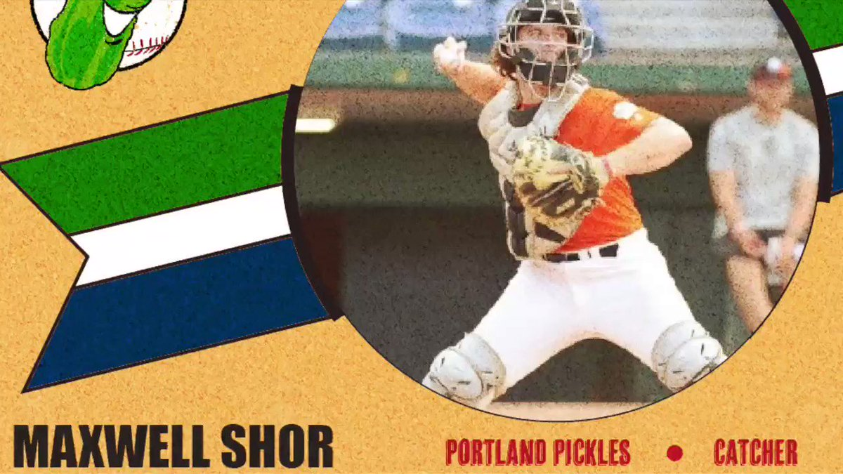 ROSTER UPDATE: We're thrilled to announce that @max_shor of @USDbaseball will be joining the Pickles this summer! This top 50 prospect is an absolute STUD behind the plate and at bat. Welcome Max! #GetPickled🥒⚾️