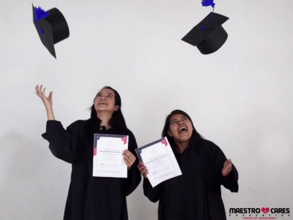 Congratulations to all the graduates of the Aprende Institute Courses program! 🎓👏  Thanks to our partnership with @Aprende_Ins, provided educational opportunities to  participants of the @MaestroCares Community Centers of @AldeasColombia and Aldeas Infantiles SOS Guatemala 1/2