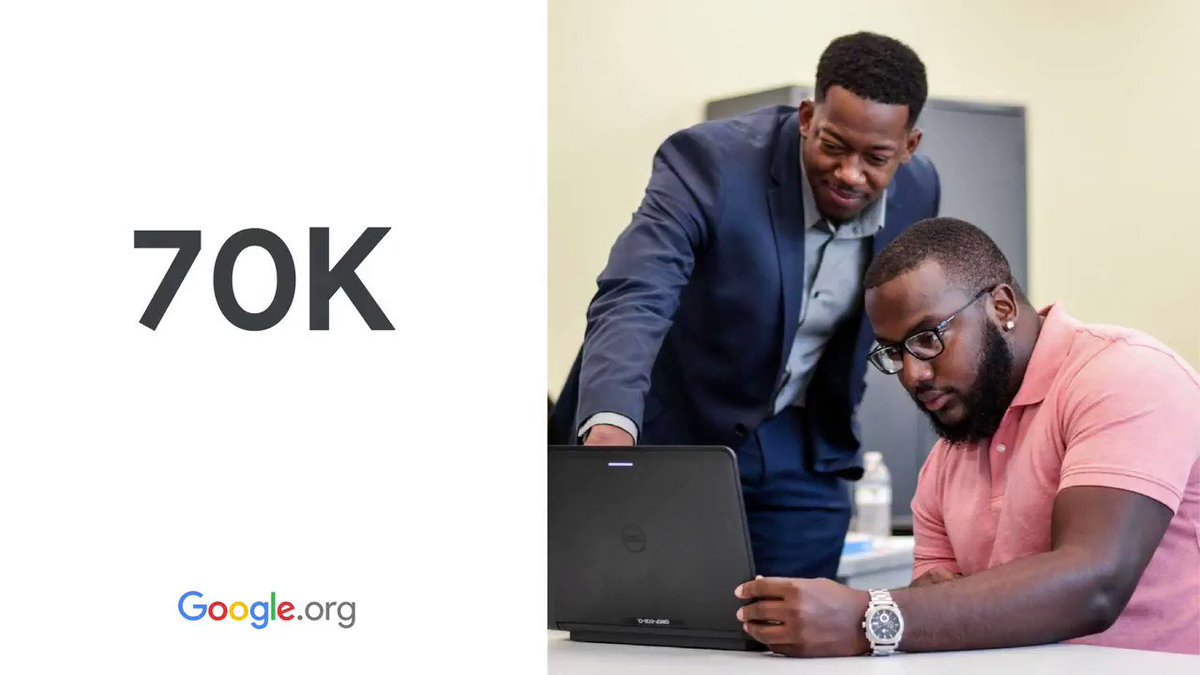 Low-income workers were hit especially hard during #COVID19 when it came to job security. Learn more about how #GoogleOrg grantees helped people find new jobs in 2020: