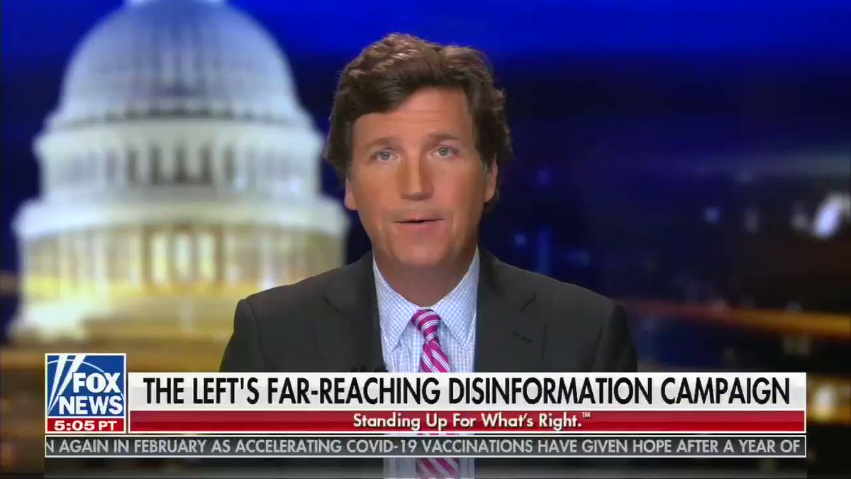 """Tucker Carlson: """"We spent all day trying to locate the famous QAnon, which in the end we learned is not even a website. If it's out there, we could not find it"""""""