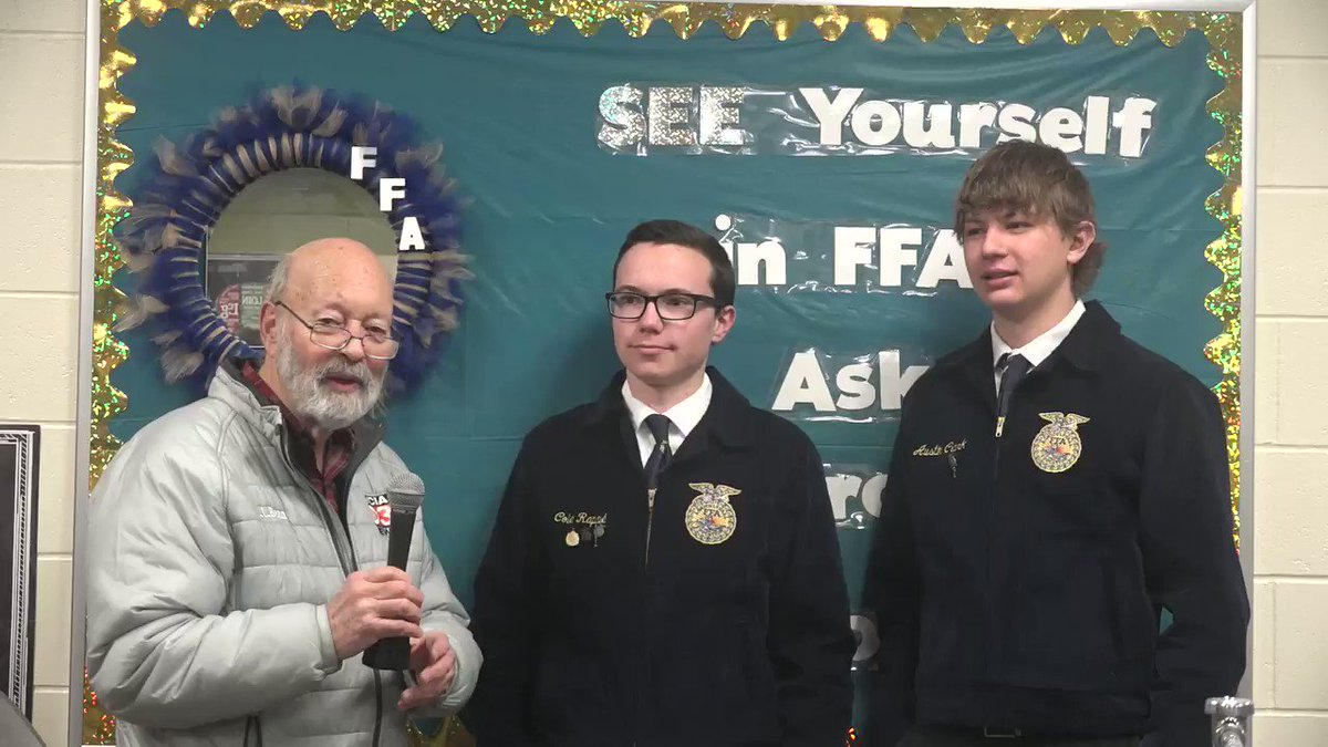Image for the Tweet beginning: National FFA week provides the