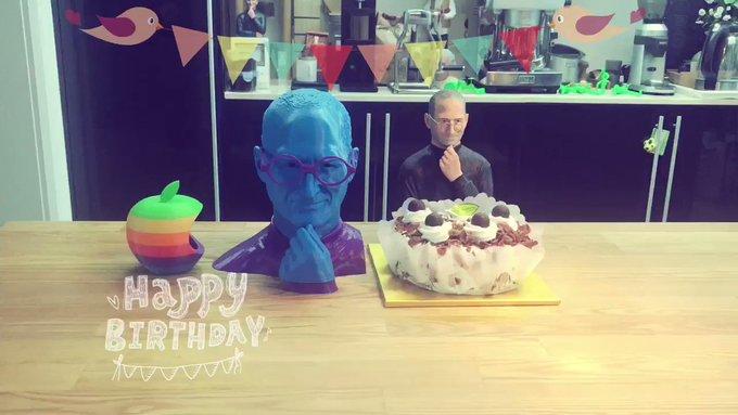 66       . iHeaven. Happy birthday to Steve Jobs~