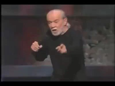 Replying to @JoshD0110: Good morning Twitter Starting the day off with some George Carlin, still relevant today.
