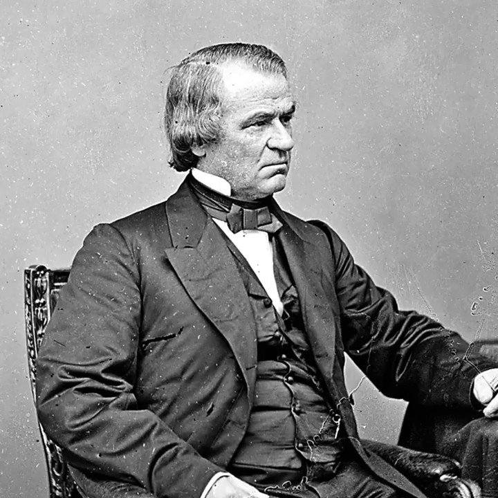 On Feb 24, 1868, the US House of Representatives voted to #impeach #AndrewJohnson, citing his removal of Secretary of War Edwin M. Stanton as a violation of the Tenure of Office Act.