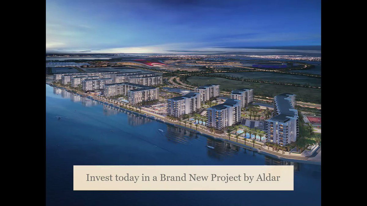 Invest today in Water's Edge, a Brand New Residential Complex in Yas Island!  Call/Whatsapp at: +971 56 422 3382  Email: info@roomandroof.ae  Visit our Website:  to view all of our Properties!  #abudhabi #abudhabicity #inabudhabi #myabudhabi #instaAbudhabi