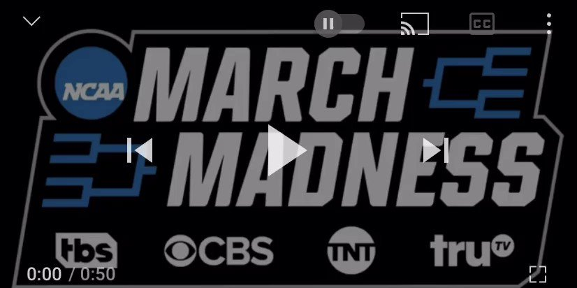 I cannot wait for this theme to be blasting through my TV next month. #MarchMadness